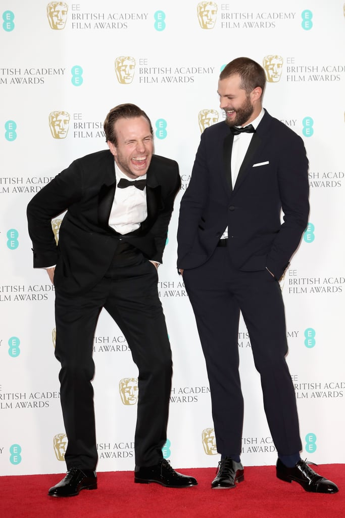 Rafe Spall and Jamie Dornan