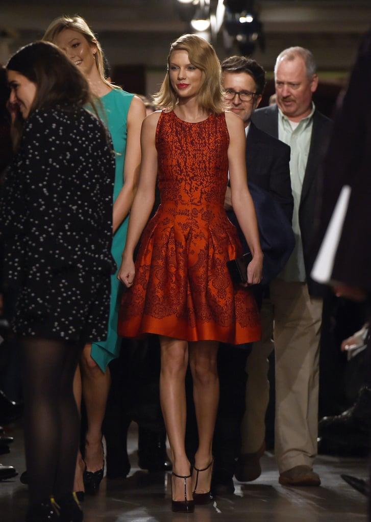 Taylor Swift at NYFW
