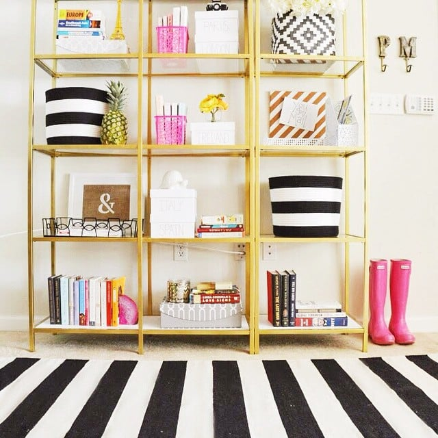 The find this black and white striped rug homegoods for Find home decor