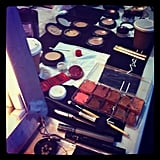 Zimmermann makeup prep.