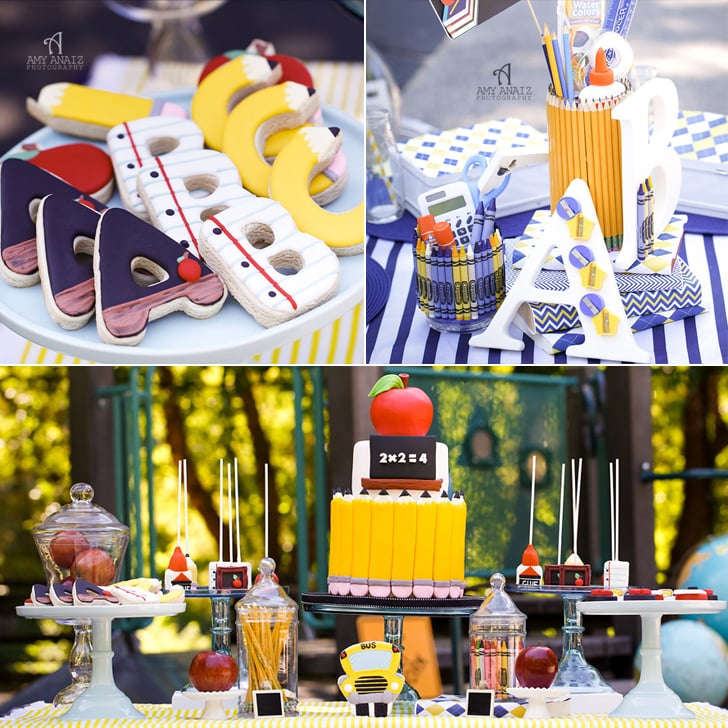 Back to School Theme Party Ideas