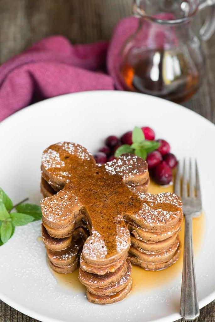 Homemade Gingerbread Pancakes