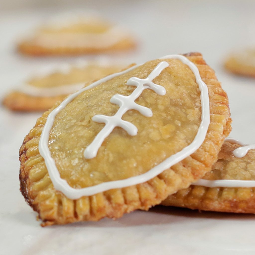 Vegetarian super bowl recipes popsugar fitness pumpkin football hand pies forumfinder Gallery