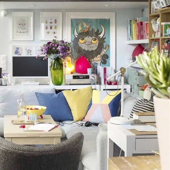 Tiny Ikea Inspired Apartment Paris POPSUGAR Home Australia Simple Ikea Inspired Living Rooms