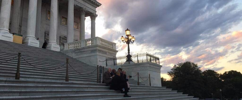 "This ""Magical"" Capitol Steps Moment Will Make You Feel Better About the World"