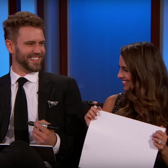 The Bachelor's Nick and Vanessa on Jimmy Kimmel Live 2017
