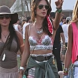Alessandra Ambrosio looked gorgeous.
