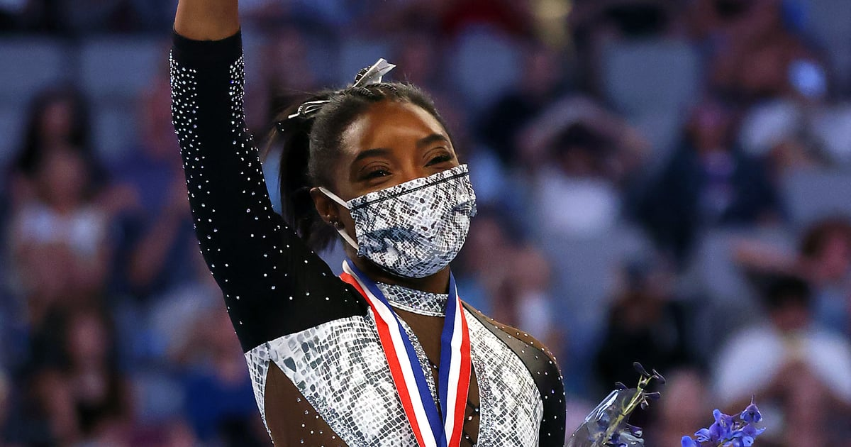 Simone Biles Wore Floating Eyeliner While Competing, Like a True Trendsetter