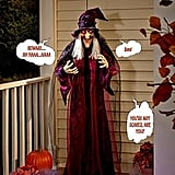 Life-Size Talking Witch
