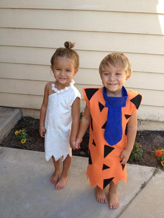 The Flintstones Costumes  sc 1 st  Popsugar & The Flintstones Costumes | Kidsu0027 Group Halloween Costume Ideas ...