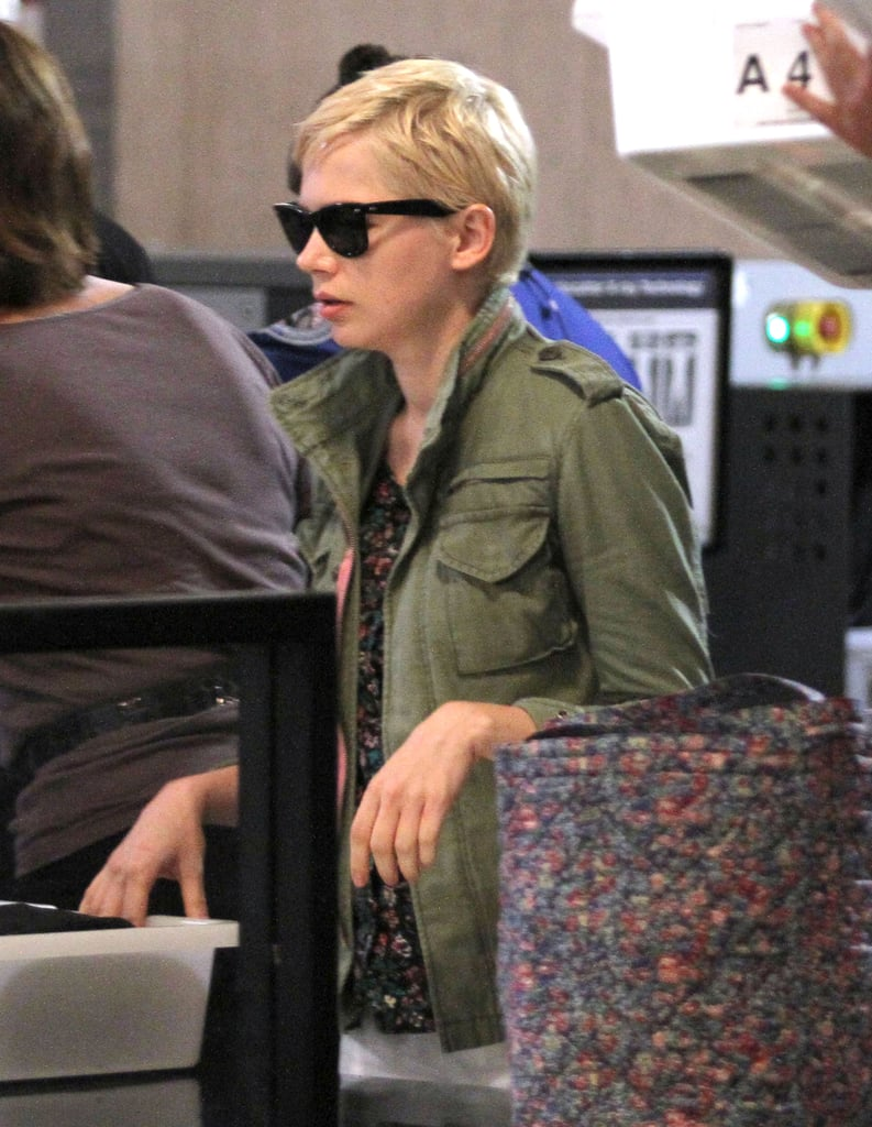 Michelle Williams Temporarily Trades Her NYC Home Base For the West Coast