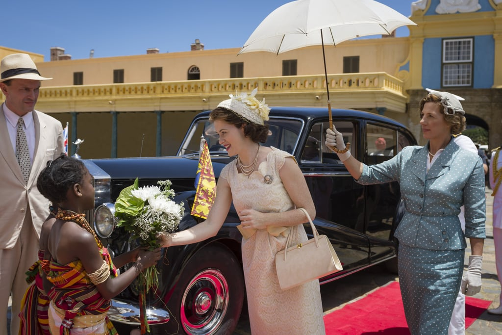 Queen Elizabeth S Trip To Ghana On The Crown Popsugar