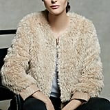 Elevenses Blushed Faux-Fur Jacket ($178)