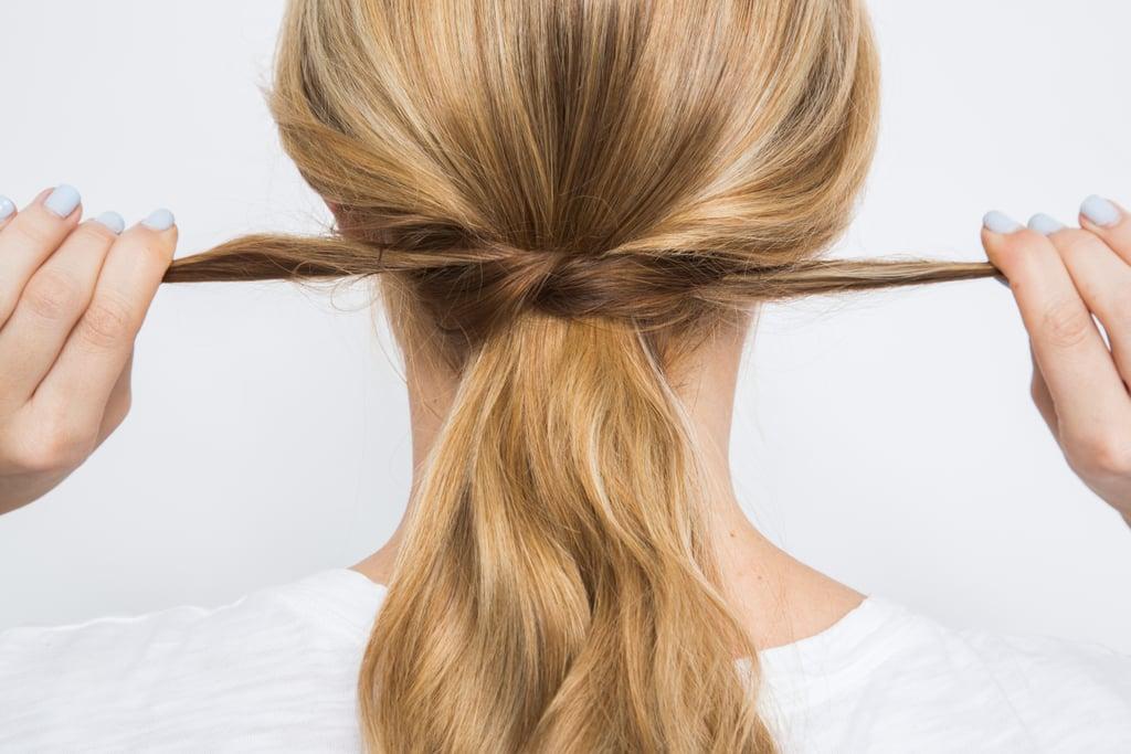 Hair Hack #3: No-Crease Ponytail