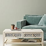 Jali-Carved Coffee Table
