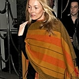 Kate Moss and Jamie Hince leave Claridge's hotel.