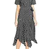 Vince Camuto Playful Stripe Wrap Dress