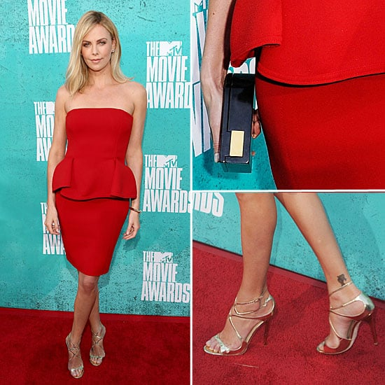 Charlize Theron at MTV Movie Awards 2012