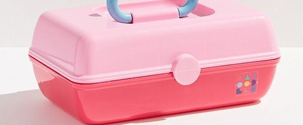 This Millennial Pink Caboodles Case Is Giving Us More Nostalgia Than We Can Handle