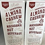 Unsweetened Almond, Cashew, and Macadamia Nut Beverage