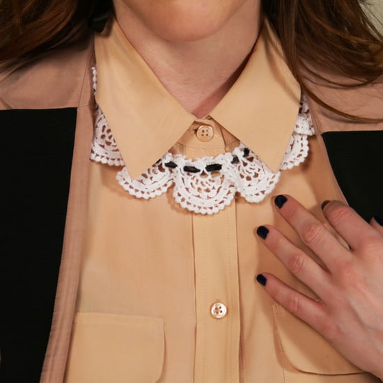 DIY: Lace Bib Collar Necklace