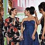 Mandy Moore Floral Dress Ralph Breaks the Internet Premiere