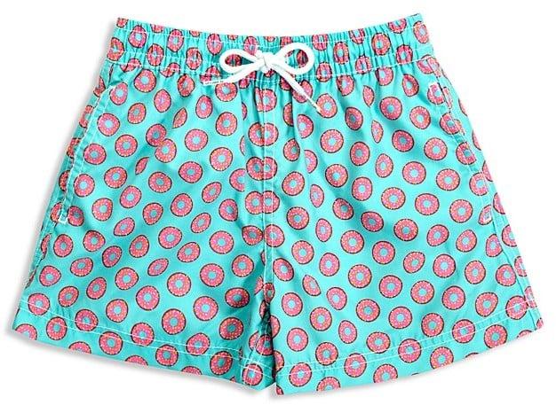 7050b9881b Donut Print Swim Trunks | Doughnut Products For Kids | POPSUGAR ...