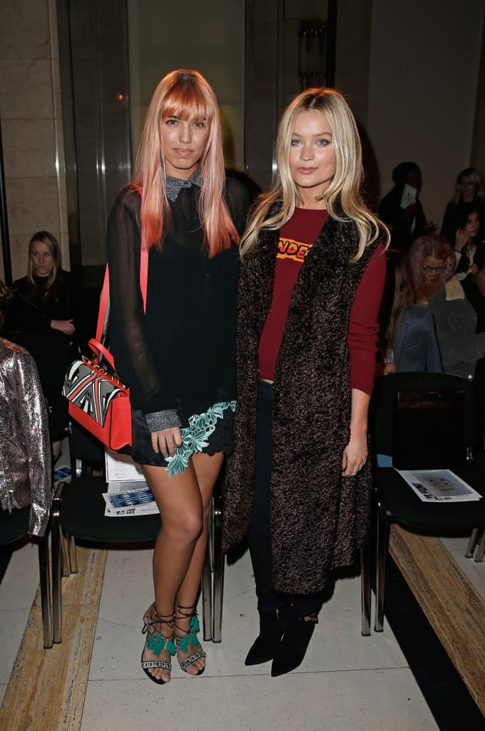 Amber Le Bon and Laura Whitmore