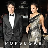 Nina Dobrev and Ian Somerhalder attended the Met Gala after party together.