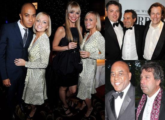 Photos Of Emma Bunton, Jade Jones, Liz McClarnon And Celebrity Chefs At London Restaurant Awards