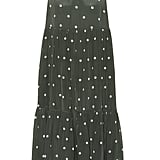 Asceno Dotted Silk Crêpe Midi Dress