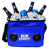 Bud Light Soft Cooler With Bluetooth Speaker