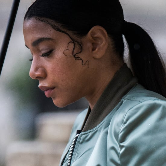 Hannah Bronfman's Heart-Shaped Baby Hairs