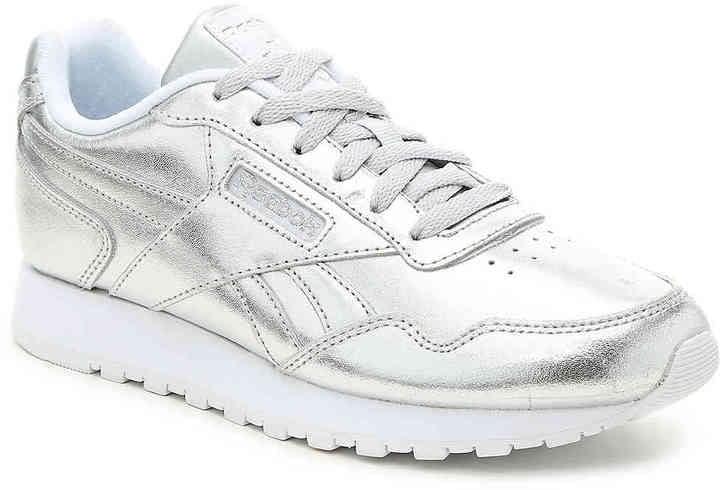 d1cf1300 Gigi's Exact Reebok Women's Harman Run Sneaker | Gigi Hadid Silver ...