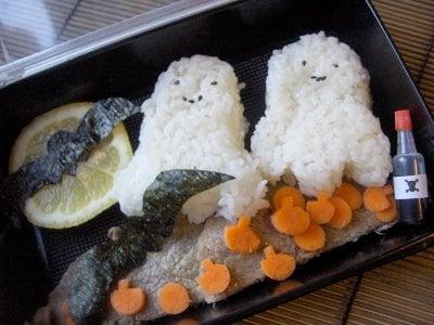 Bento of the Week: Spooky Halloween Bento