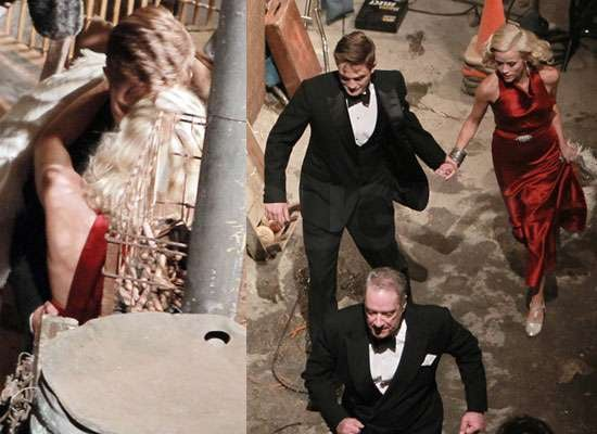Pictures of Robert Pattinson Kissing Reese Witherspoon