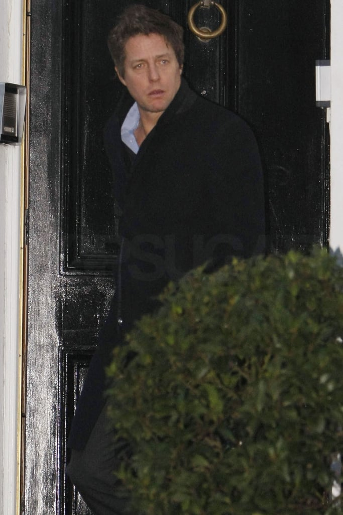 Pictures of Hugh Grant Leaving Elizabeth Hurley's House ...