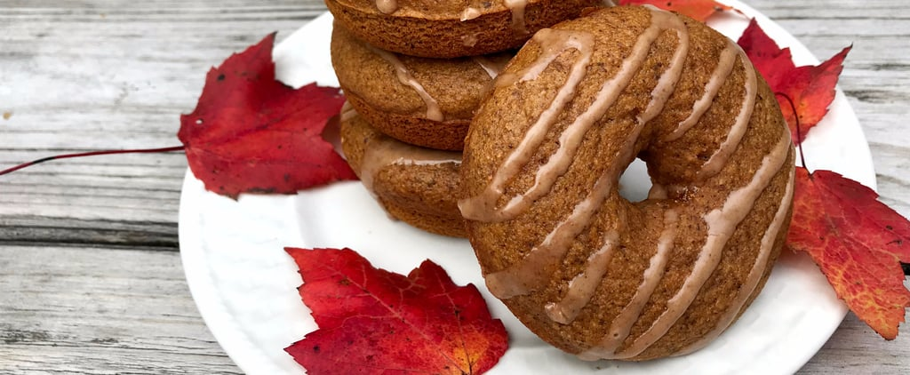 Fall Tastes Better When You Bite Into These Low-Cal Vegan Cider Doughnuts