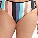 Body Glove, Striped Retro - High Waist Swim Brief