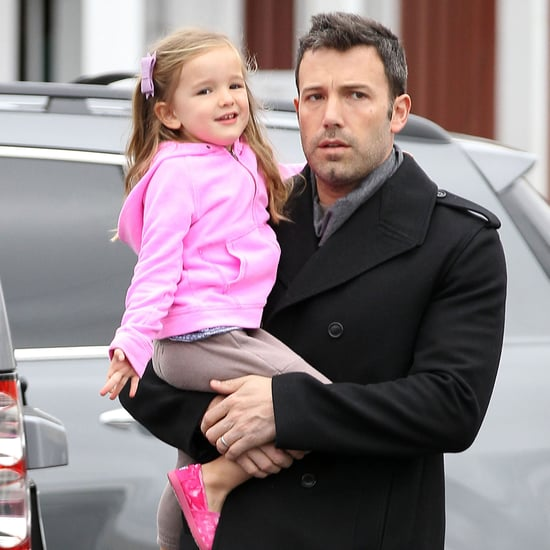 Ben Affleck Takes Seraphina to Breakfast in LA