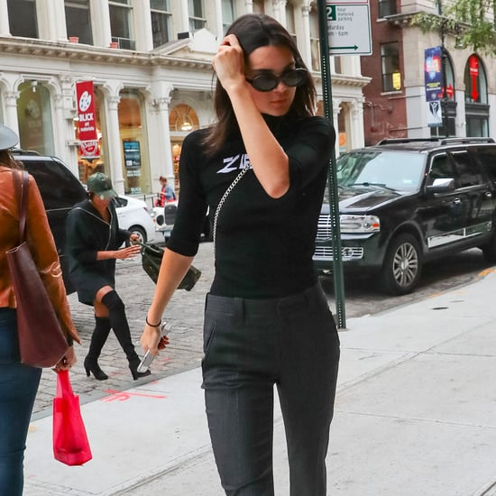 Kendall Jenner Trousers Style