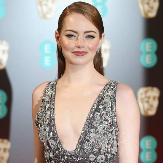 Sequinned Dresses on BAFTA Awards Red Carpet