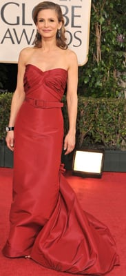 Golden Globes Style: Kyra Sedgwick