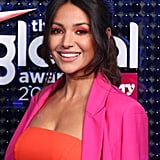Michelle Keegan's Electric Shadow at the 2020 Global Awards