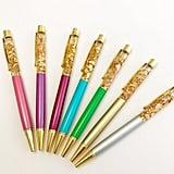 Gold Foil Ballpoint Pen