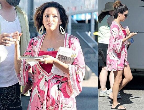 Photos of Eva Longoria on the Set of Desperate Housewives 2008-09-28 07:05:00