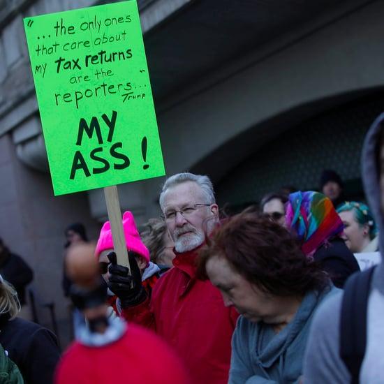 Butt Trump Protest in Chicago