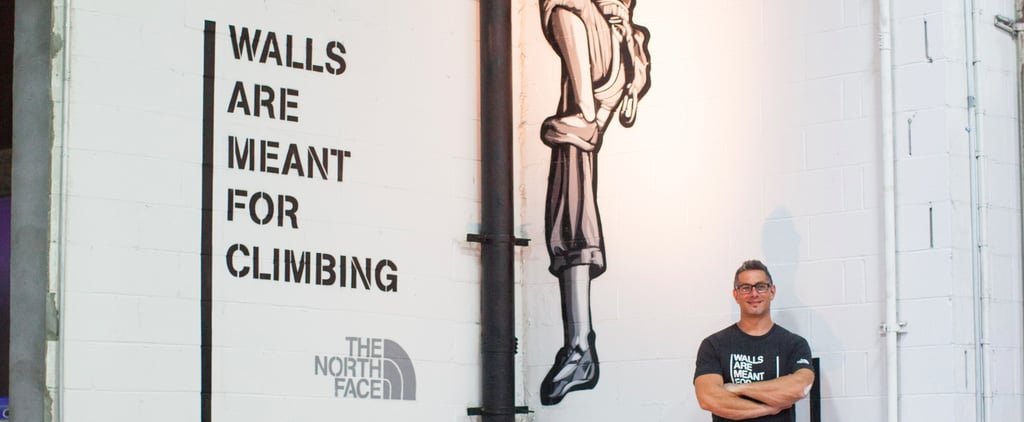 North Face Wall Climbing Campaign