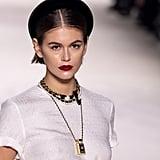 Kaia Gerber's Red Lipstick at the Chanel Métiers d'Art 2019-2020 Show