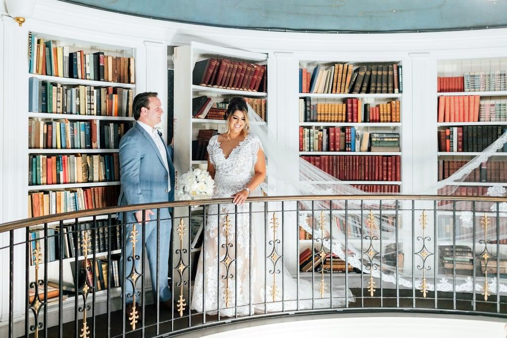 Romantic Library Shot